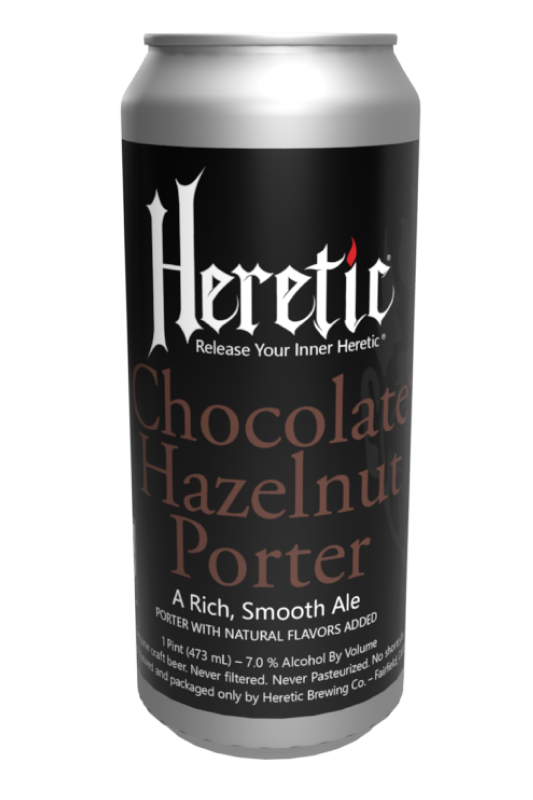 Chocolate Hazelnut port beer can linked to beer info page