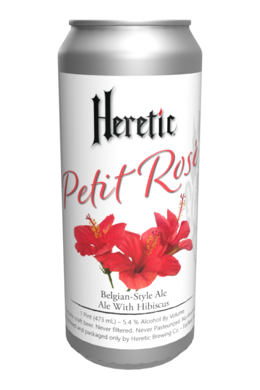 Petit Rose beer can linked to beer info page