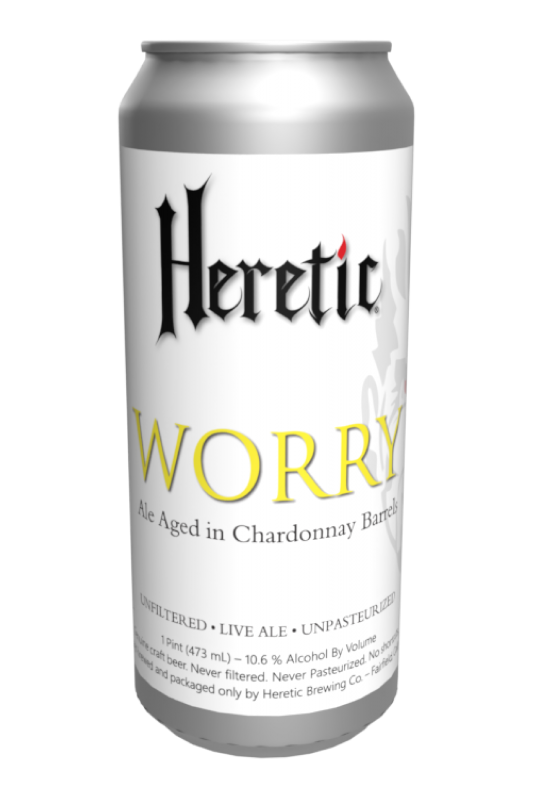 Worry Beer can linked to beer info page