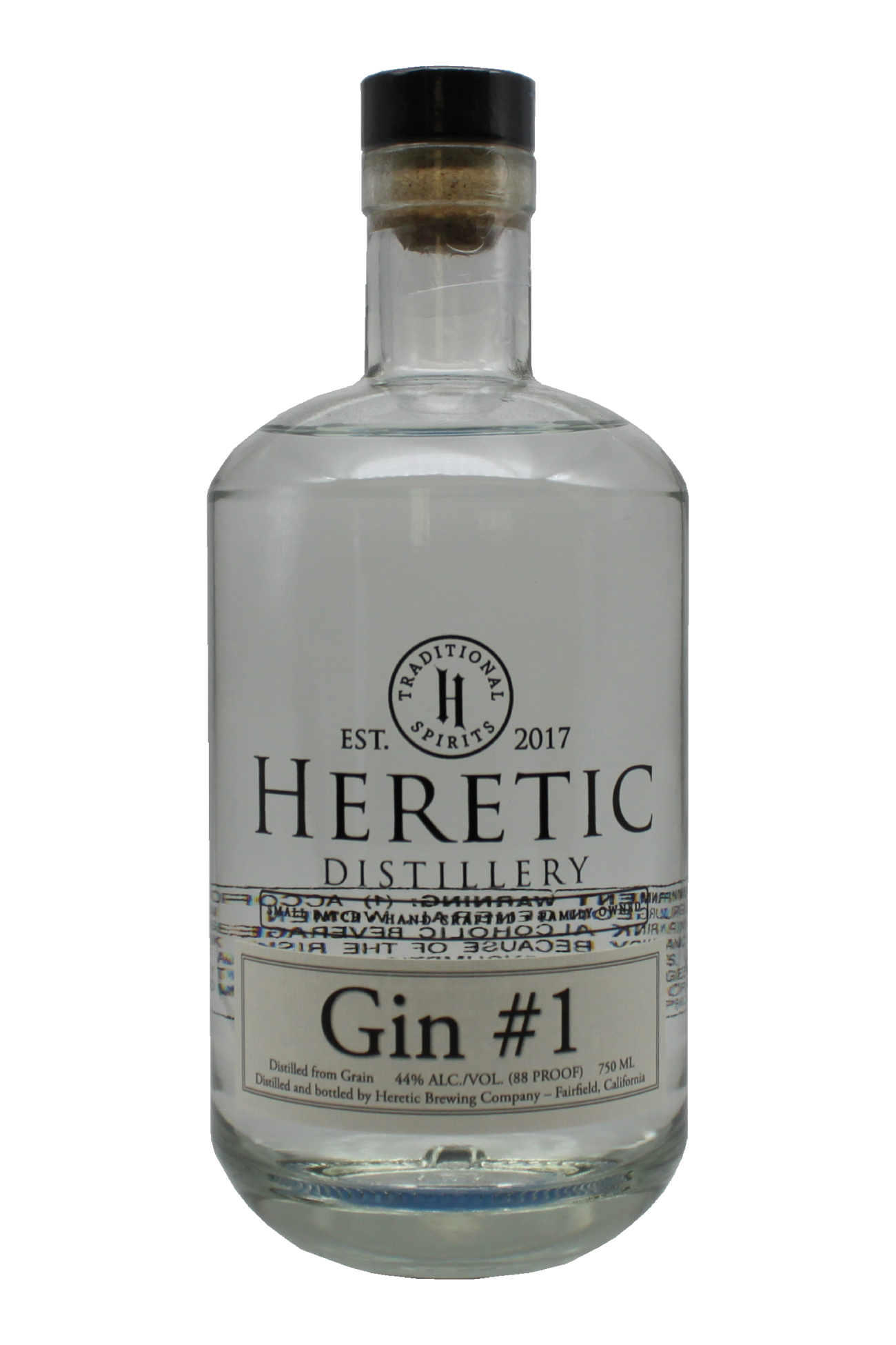 Botanical Gin #1 bottle linked to details about vodka page