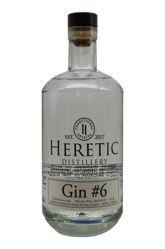Citrus Gin #6 bottle linked to details about vodka page